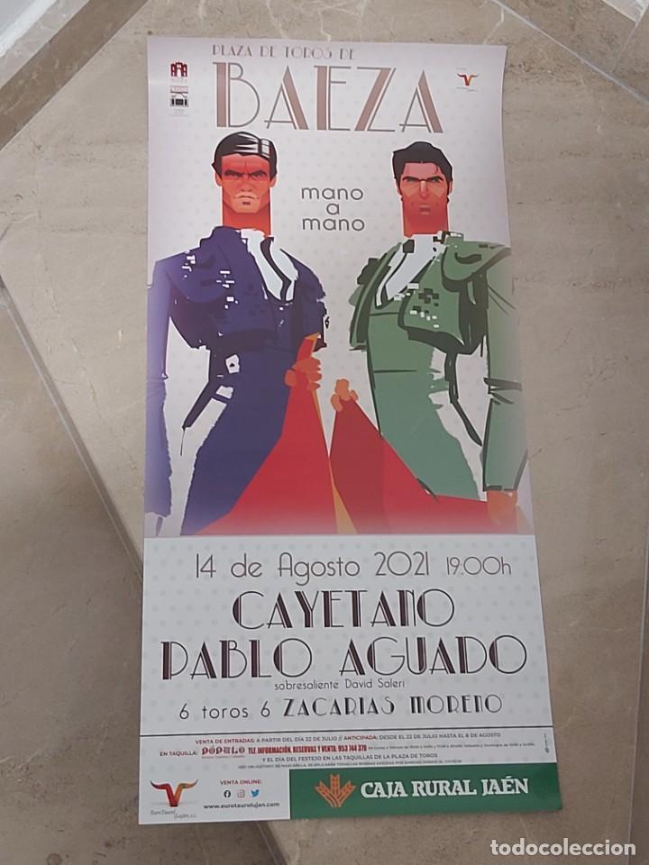 CARTEL DE TOROS BAEZA FERIA 2021 (Coleccionismo - Carteles Gran Formato - Carteles Toros)