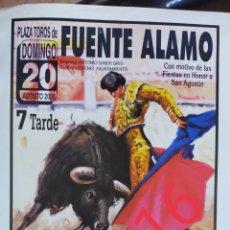Carteles Toros: CARTEL DE TOROS FUENTE ÁLAMO 2000. Lote 288213528