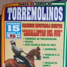 Carteles Toros: CARTEL DE TOROS TORREMOLINOS 1998. Lote 288214743