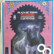 Carteles Toros: CARTEL DE TOROS MADRID ABRIL 1994. Lote 288222323