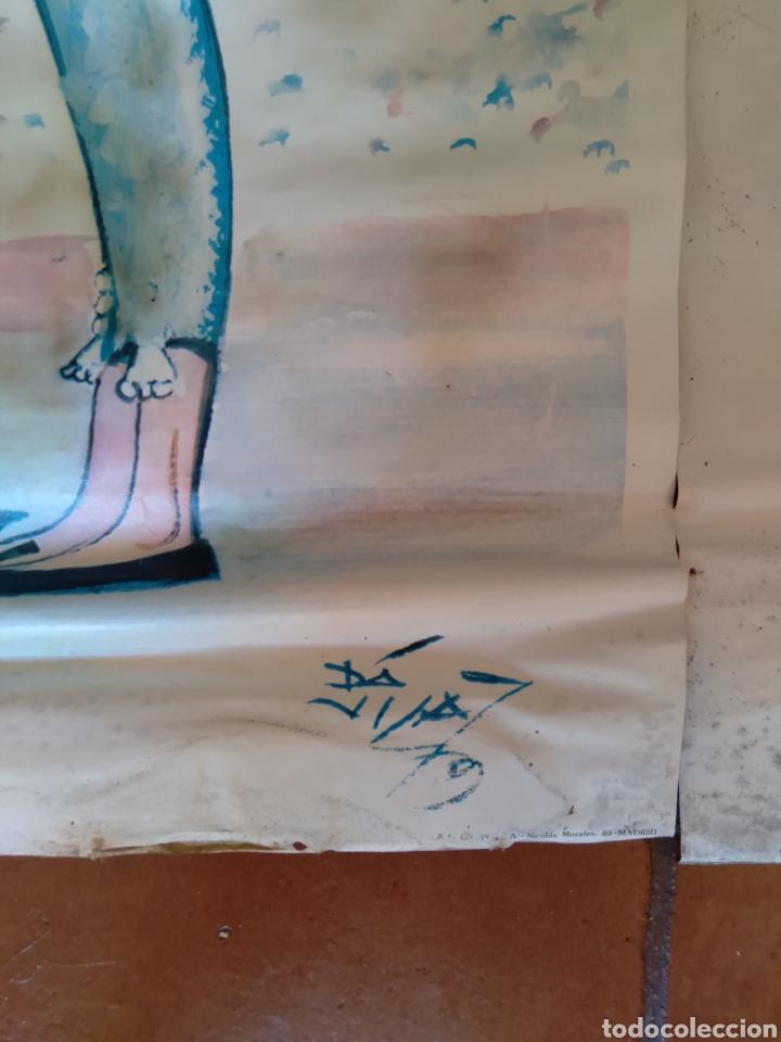 Carteles Toros: Litografía de Dávila de Manolo Vázquez - Foto 3 - 289576583