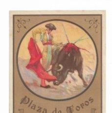Carteles Toros: CARTEL- PLAZA DE TOROS DE SEVILLA- EL DOMINGO 16 DE JUNIO DE 1929- MIDE 12 X 17,5 CM. Lote 289718483