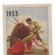 Carteles Toros: CARTEL- PLAZA DE TOROS DE SEVILLA- CAZALLA DE LA SIERRA - 15 AL 19 AGOSTO 1953- MIDE 13,5 X 21CM 27. Lote 289719838