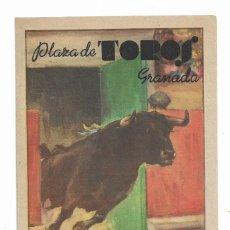 Carteles Toros: CARTEL PLAZA DE TOROS DE GRANADA- 16 AL 26 DE JUNIO DE 1949. Lote 289721108