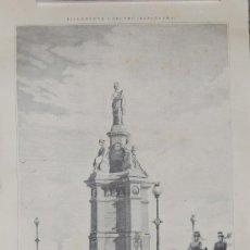 Affissi di Trasporti: LÁMINA MONUMENTO FFCC. Lote 131319999