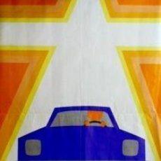 Carteles de Transportes: CARTEL CONDUCTORES: PASEMOS HACIENDO..1971.PUENTE.67X99. Lote 35799738