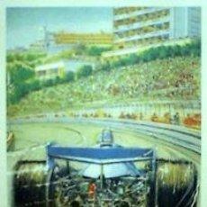 Carteles de Transportes: CARTEL MONACO 1979. ANONIMO. 70 X 100. LITOGRAFIA. 1987. Lote 35815304