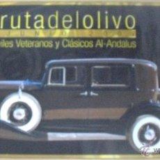 Carteles de Transportes: CARTEL POSTER RALLY DE COCHES ANTIGUOS XXVI RUTA DEL OLIVO 2007 CLUB AL ANDALUS JAEN . Lote 40142364