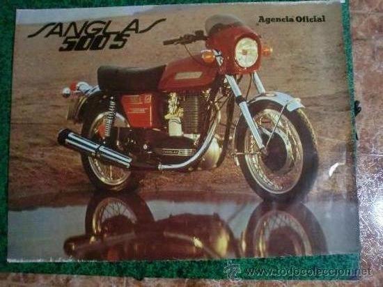SANGLAS 500 GRAN FORMATO 90X67 CMS. ORIGINAL (Coleccionismo - Carteles Gran Formato - Carteles Transportes)