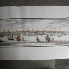 Affissi di Trasporti: CARTEL LAMINA - TEMA BARCOS AMSTERDAM - HOLANDA HOLLAND. Lote 46154742