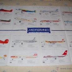 Carteles de Transportes: CARTEL 94 X 60 CM - AVIONES PUBLICIDAD DE VIAJES MEDITERRANEO AÑO 1990. Lote 46599877