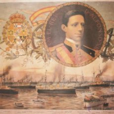 Affiches de Transports: FLOTA BARCOS ALFONSO XIII. Lote 47944691