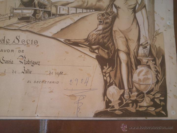 Carteles de Transportes: LA MAQUINISTA TERRESTRE - SOCIEDAD Y RETIROS DE MAQUINISTA Y FOGONEROS DEL VAPOR Y ELECTRICIDAD - Foto 4 - 49958910