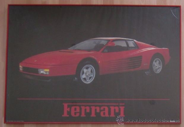 POSTER-CARTEL FERRARI - PHOTO JOHN PAUL ENDRESS (Coleccionismo - Carteles Gran Formato - Carteles Transportes)