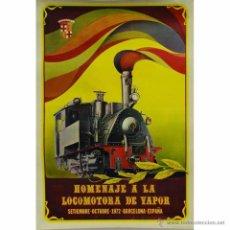 Carteles de Transportes: CARTEL PUBLICITARIO F DOMENECH 1972. Lote 54576902