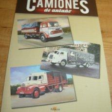 Affiches de Transports: LAMINAS LITOGRAFIADAS CAMIONES DE ANTAÑO . Lote 55367658
