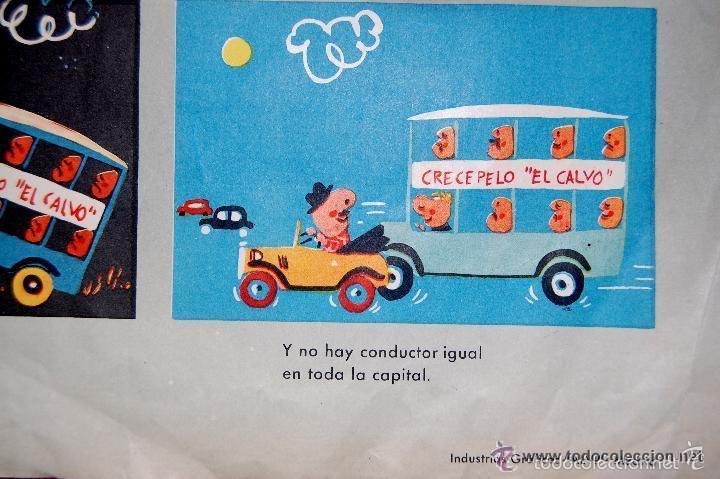 Carteles de Transportes: ANTIGUO CARTEL DE LA JEFATURA DE TRAFICO. MEMORIAS DE UN CONDUCTOR.1961.COCHE AUTOMOCIÓN (POSTER) - Foto 5 - 57033150