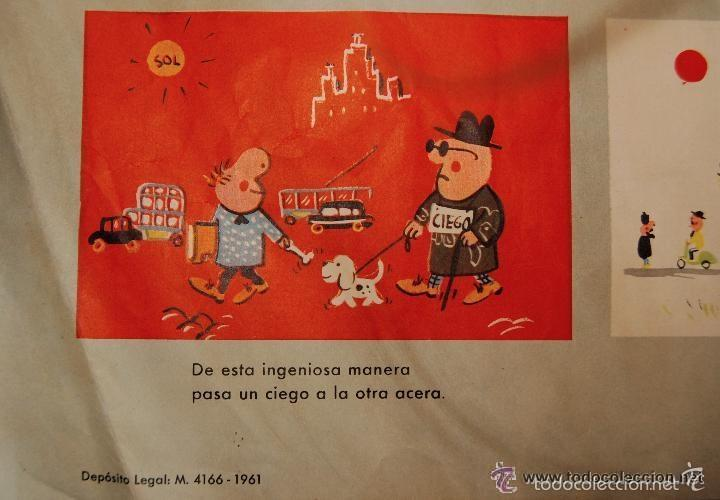Carteles de Transportes: ANTIGUO CARTEL DE LA JEFATURA DE TRAFICO. MEMORIAS DE UN CONDUCTOR.1961.COCHE AUTOMOCIÓN (POSTER) - Foto 6 - 57033150