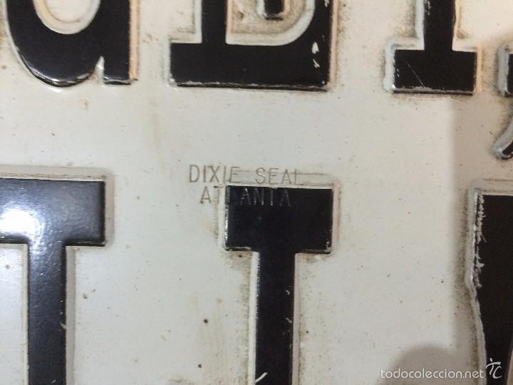 Carteles de Transportes: Placa delantera confederada de coche USA (OLVIDA EL INFIERNO) - Foto 4 - 58398404