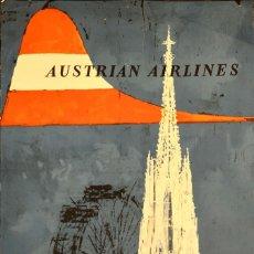 Carteles de Transportes: AUSTRIAN AIRLINES. Lote 62206788