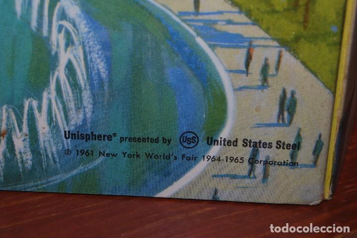 Carteles de Transportes: CARTEL EN RELIEVE CON PUBLICIDAD DE PAN AM - FOLLETO PANAM - FERIA MUNDIAL DE NUEVA YORK - 1964 - Foto 5 - 70568001