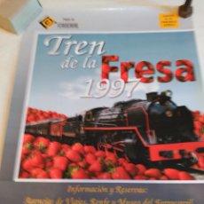 Carteles de Transportes: FERROCARRIL CARTEL PUBLICITARIO GRAN FORMATO. Lote 97886711