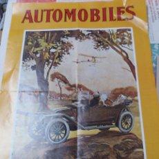 Carteles de Transportes: CARTEL * AUTOMÓVILES RENAULT * MOTOR JOVEN ( 60 X 40 ). Lote 110166131