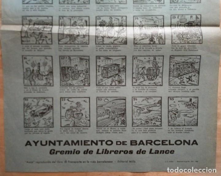 Carteles de Transportes: 1963 V Rally Barcelona Sitges. Auca histórico guasona del transporte en Barcelona - Foto 4 - 117630711