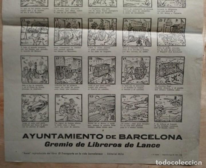 Carteles de Transportes: 1963 V Rally Barcelona Sitges. Auca histórico guasona del transporte en Barcelona - Foto 4 - 117630727
