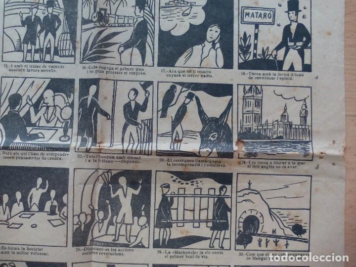 Carteles de Transportes: 2 Auca del carril de Mataro y otra del centenario del mismo - Foto 2 - 119288311