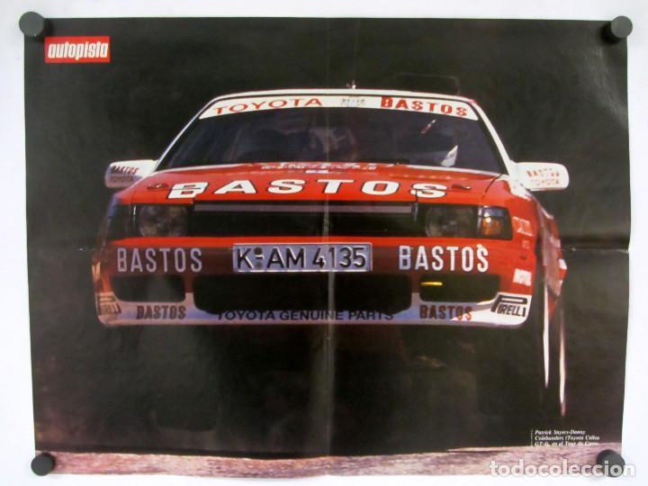 Carteles de Transportes: Lote de 9 posters de la revista Autopista. La mayoria reversibles. 54x41 cms. - Foto 10 - 121599879