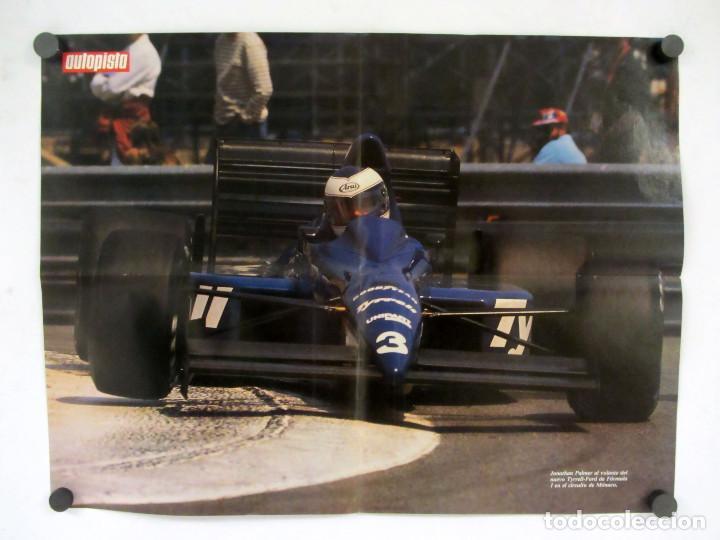 Carteles de Transportes: Lote de 9 posters de la revista Autopista. La mayoria reversibles. 54x41 cms. - Foto 13 - 121599879