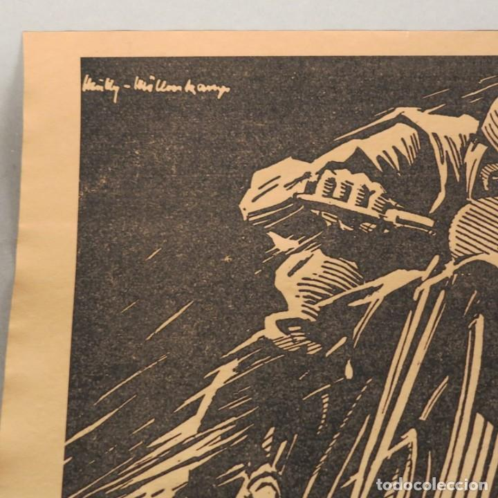 Carteles de Transportes: Original cartel vintage de Continental Reifen. Alemania 1950 - 1959 - Foto 3 - 121916987