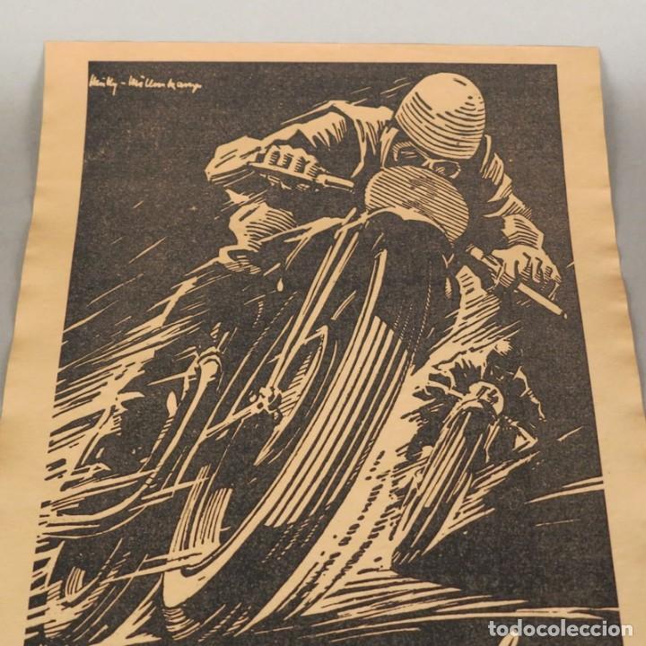 Carteles de Transportes: Original cartel vintage de Continental Reifen. Alemania 1950 - 1959 - Foto 4 - 121916987