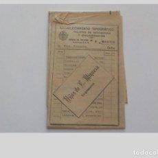 Carteles de Transportes: ANTIGUO PLANO DE FERROCARRILES DE ESPAÑA Y PORTUGAL. Lote 126888383