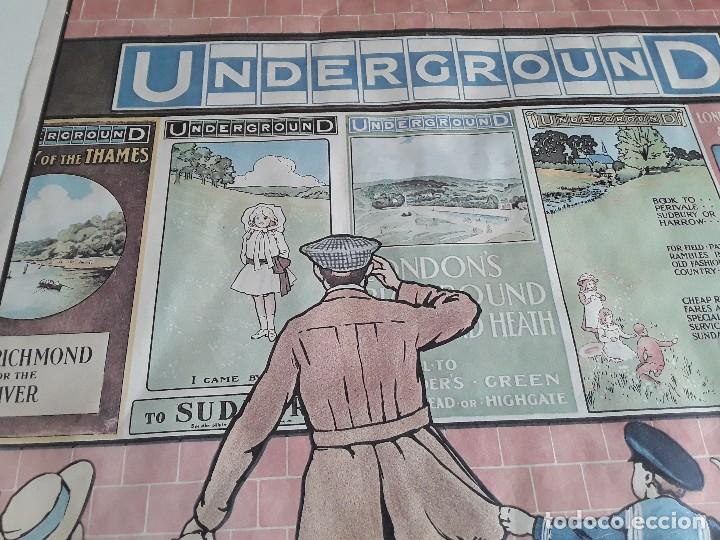 Carteles de Transportes: Cartel del metro de Londres, 1976 - Foto 10 - 127682487