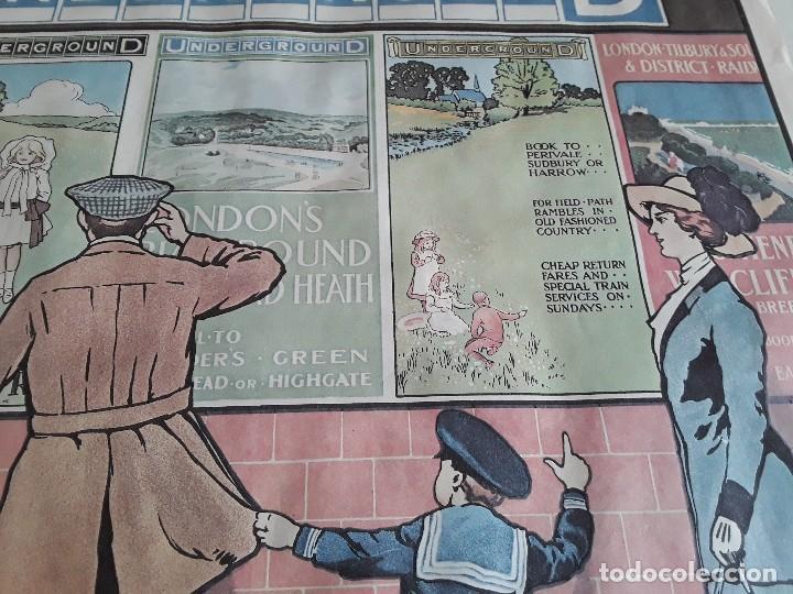 Carteles de Transportes: Cartel del metro de Londres, 1976 - Foto 11 - 127682487
