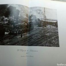 Affiches de Transports: CARTEL GRAN FORMATO DE ESTACIÓN DEPOSITO DE SALAMANCA - TREN FERROCARRIL 1971 FOTO M MARISTANY. Lote 171425987