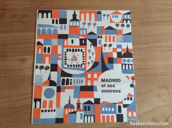 Carteles de Transportes: Madrid et ses environs. Plano Vintage. Mapa - Foto 5 - 175518570