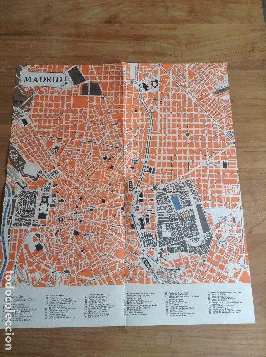 MADRID ET SES ENVIRONS. PLANO VINTAGE. MAPA (Coleccionismo - Carteles Gran Formato - Carteles Transportes)
