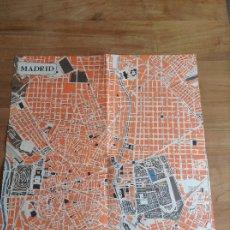 Carteles de Transportes: MADRID ET SES ENVIRONS. PLANO VINTAGE. MAPA. Lote 175518570