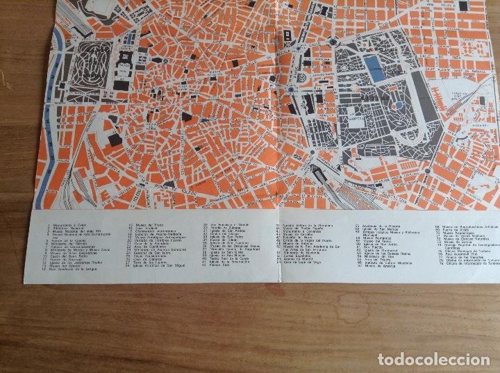 Carteles de Transportes: Madrid et ses environs. Plano Vintage. Mapa - Foto 3 - 175518570