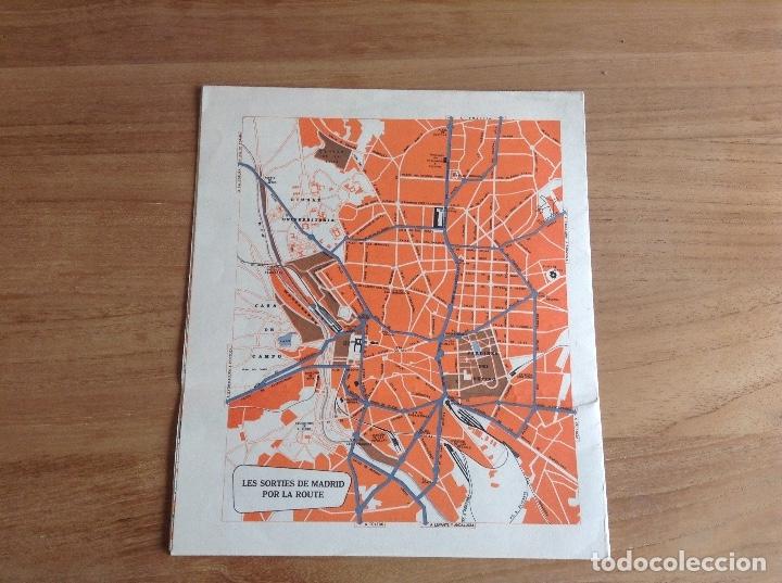 Carteles de Transportes: Madrid et ses environs. Plano Vintage. Mapa - Foto 2 - 175518570