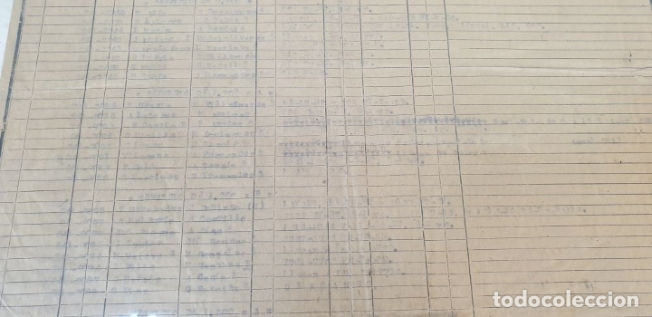 Carteles de Transportes: RED NACIONAL DE FERROCARRILES ESPAÑOLES. SERVICIO DE LAS MÁQUINAS. 1957. - Foto 6 - 178169731