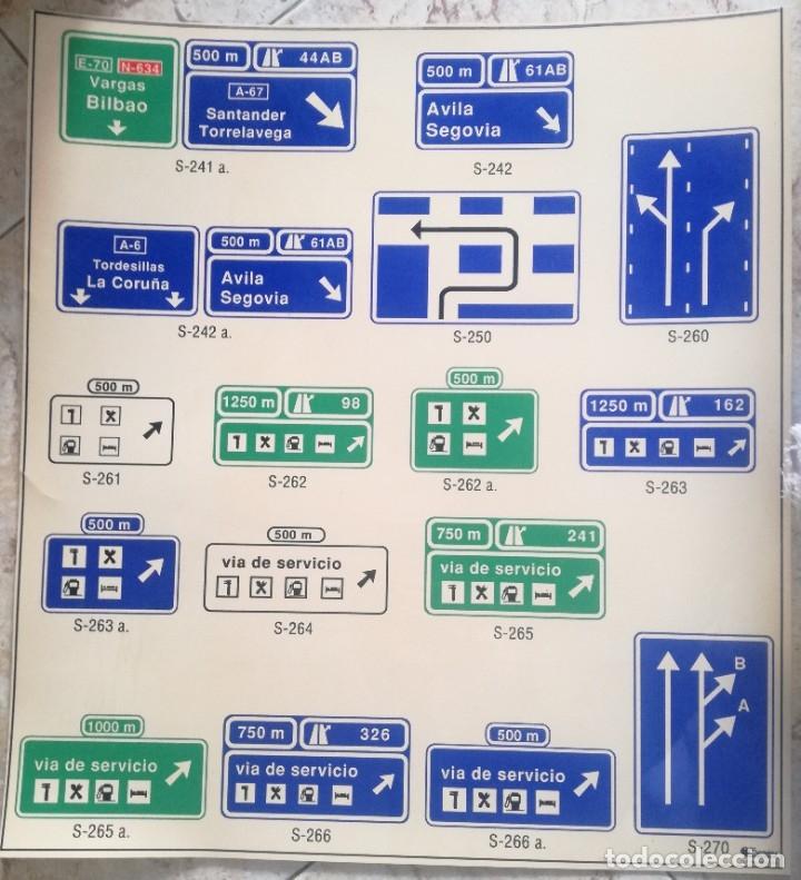 Carteles de Transportes: SEÑALES VIA DE SERVICIO. - Foto 2 - 182587407