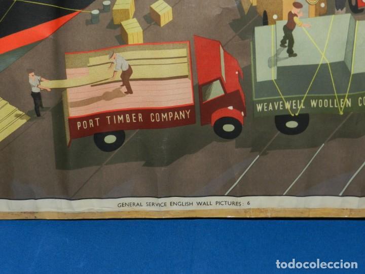 Carteles de Transportes: (M) CARTEL ANTIGUO ORIGINAL - BARCO NAVIERA SWALLOW, IDEAL MANUFACTURING CO LTD - Foto 9 - 187160411