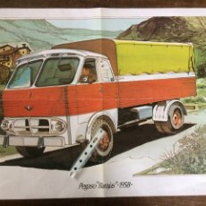 Affiches de Transports: PÓSTER CAMION PEGASO BARAJAS. Lote 191481481