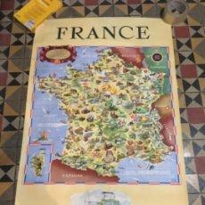 Carteles de Transportes: (M) FERROCARRILES / FRANCIA - CÀRTEL 1953 - FRANCE . SOCIETE NATIONALE DES CHEMINS DE FER FRANCAIS . Lote 197223392