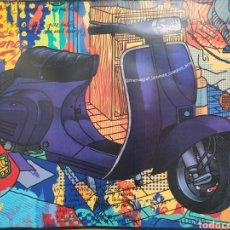 Affissi di Trasporti: VESPA ARLY JONES MAMAGRAF. Lote 202939588