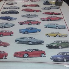 Affiches de Transports: PÓSTER ALFA ROMEO. Lote 212851196